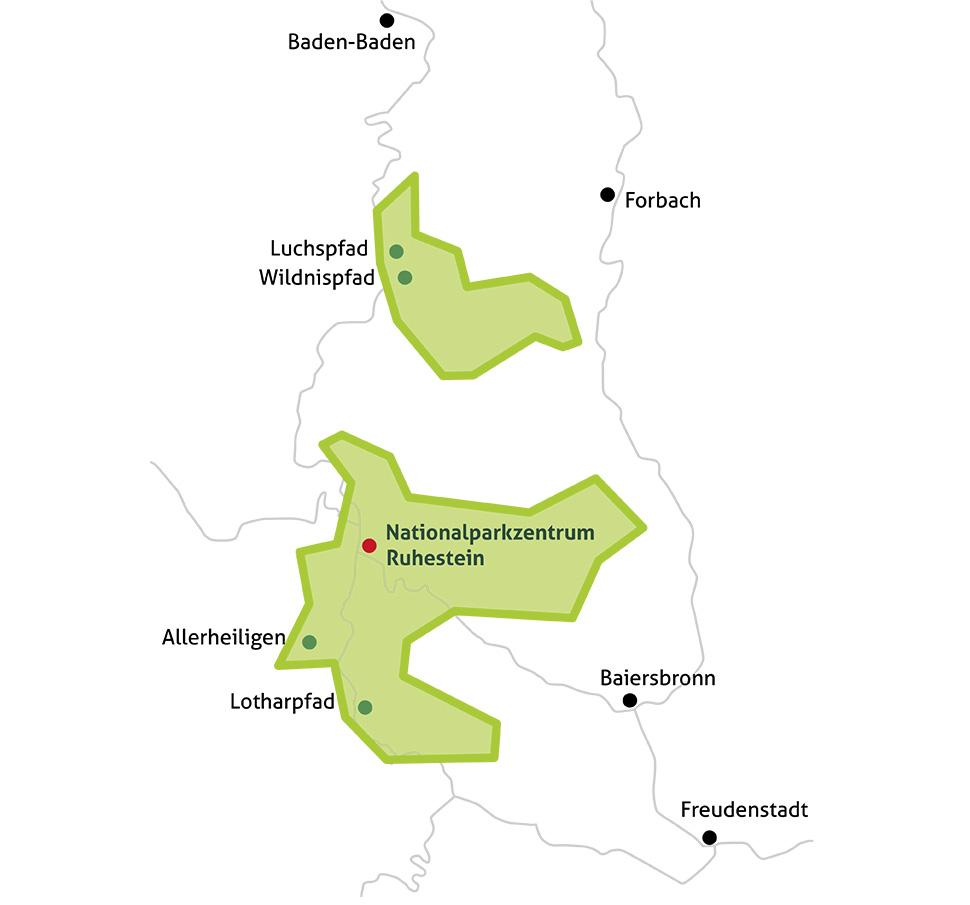 Nordschwarzwald Karte.Nationalpark Pro Nationalpark Schwarzwald